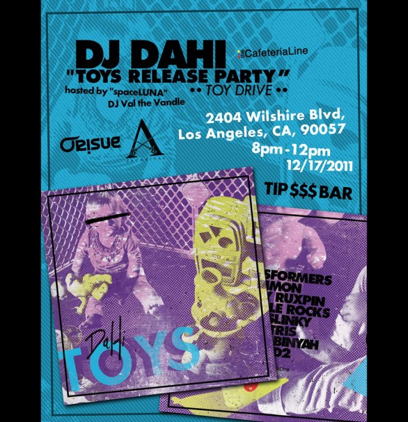 Toys Release Party